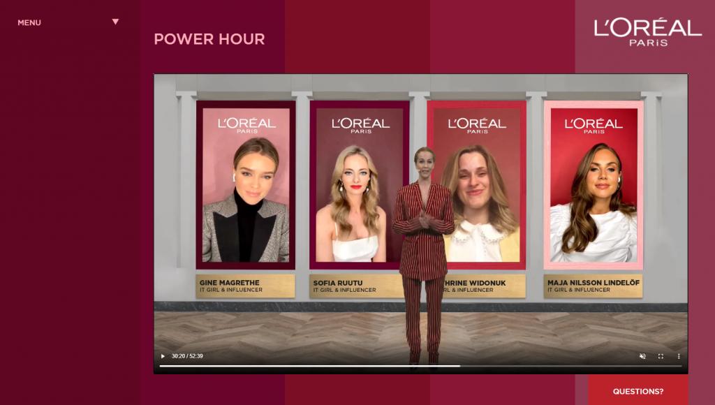 L'Oreal Paris Power Hour subpage 4