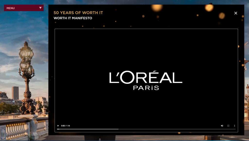 L'Oreal Paris Power Hour subpage 1