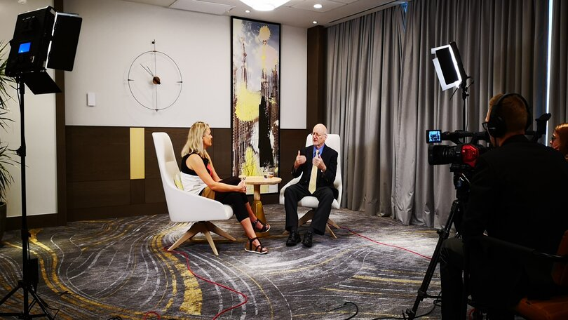 Lundbeck live streaming event interview