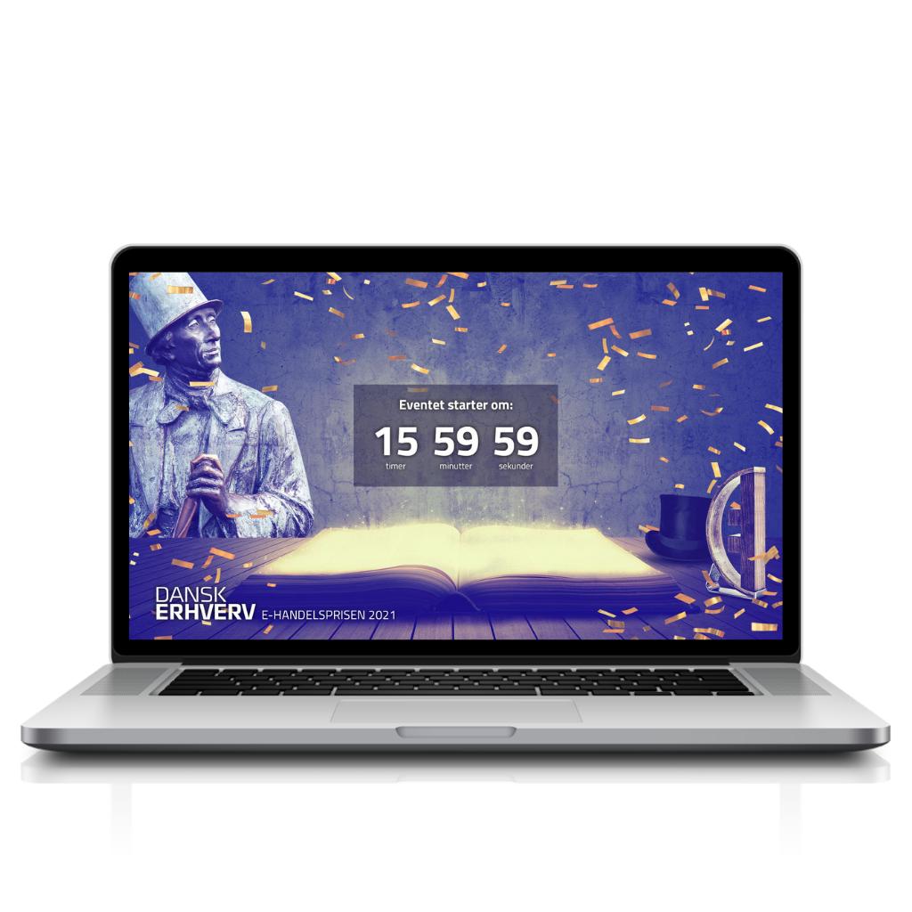 Dansk Erhverv platform Waiting page